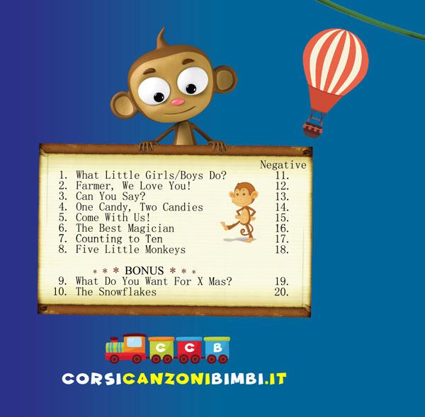 Funny English Songs - Canzoni per Bambini in Inglese Titoli