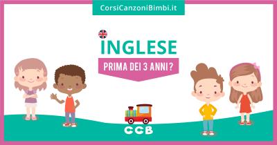 Inglese per bambini prima dei 3 anni