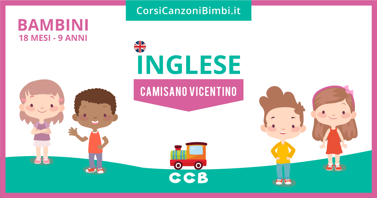 Inglese per Bambini a Camisano Vicentino