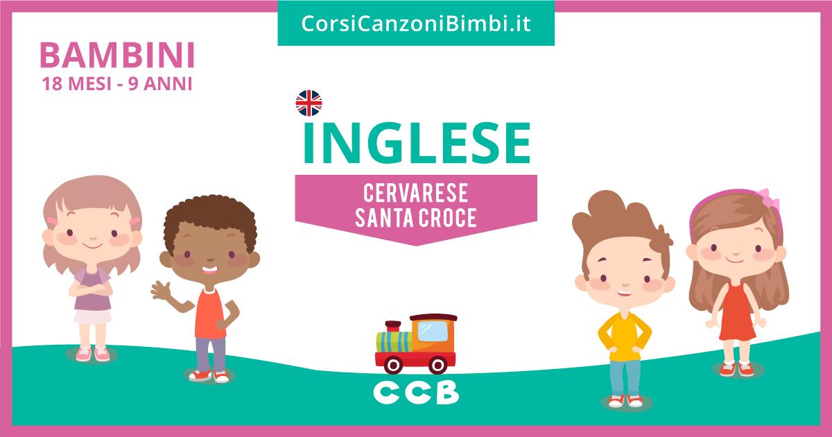 Lezioni di inglese per bambini a Cervarese Santa Croce