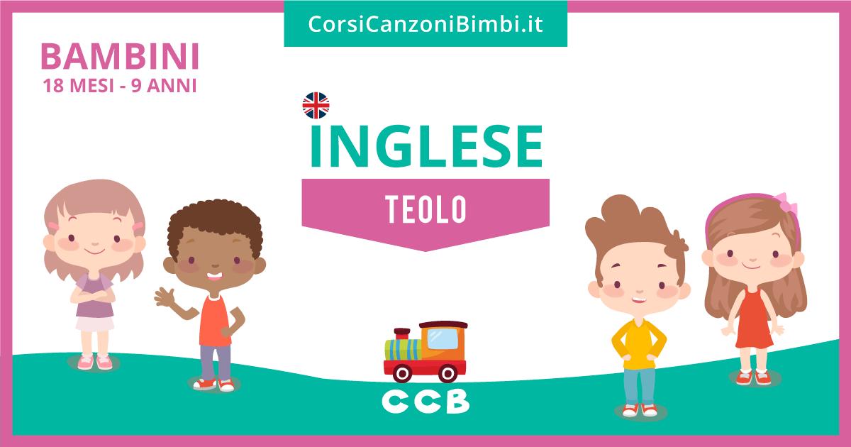 Lezioni di inglese per bambini a Teolo