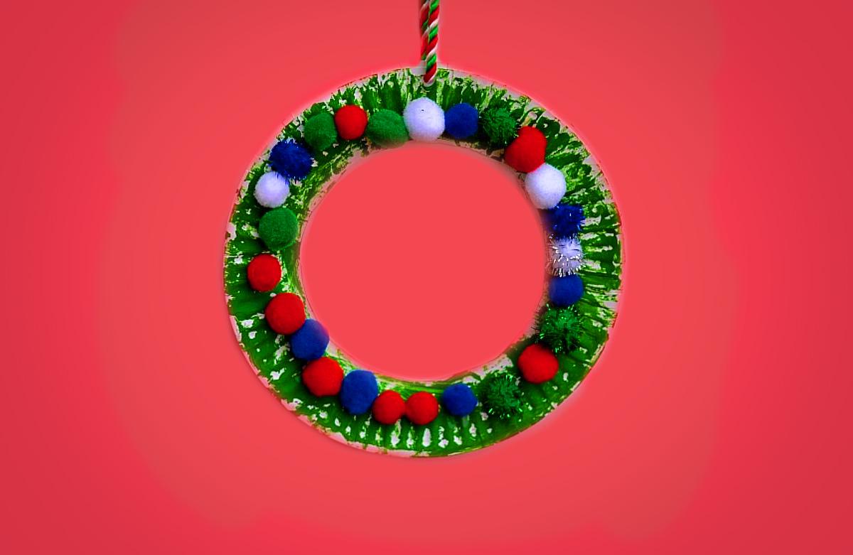 Christmas Wreath Laboratorio Creativo per Bambini in Inglese tra Padova e Vicenza