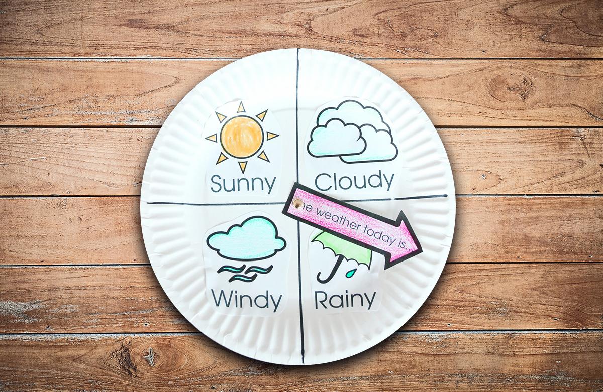 Weather Clock Laboratorio Creativo per Bambini in Inglese tra Padova e Vicenza