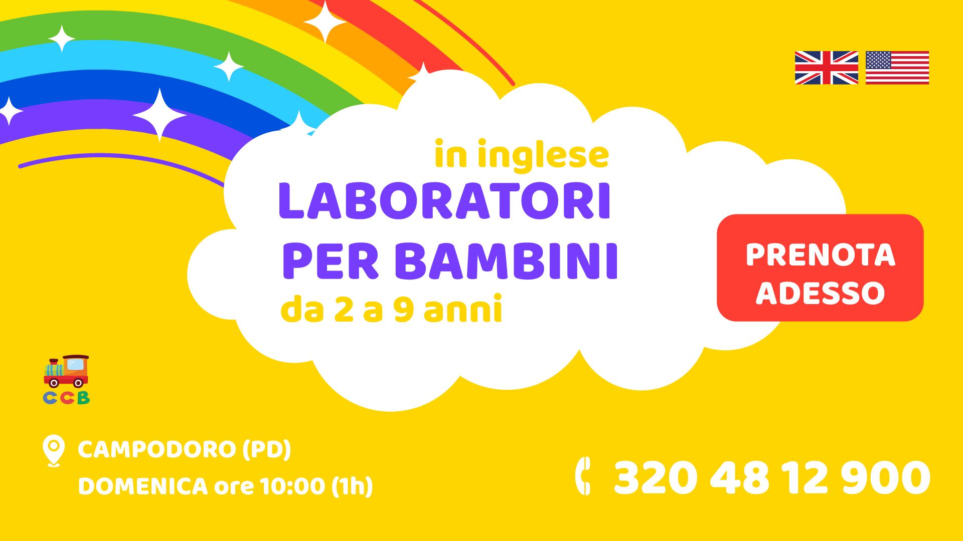 Laboratori per Bambini a Padova e provincia nel 2019-2020