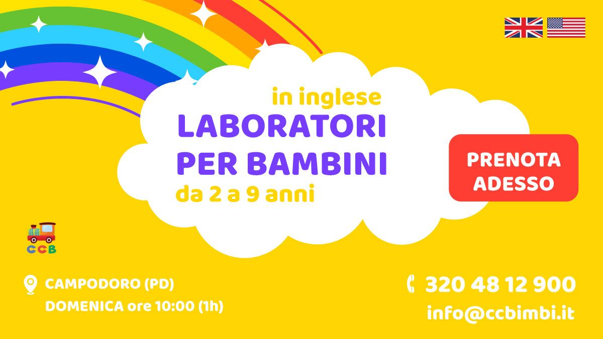 Laboratori per Bambini a Rubano 2019-2020